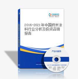 2019-2023年中国纳米涂料行业分析及投资咨询报告