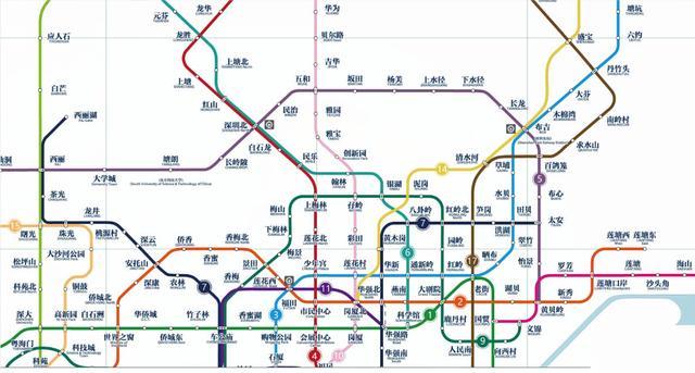 深圳地�_深圳地铁14号线路线