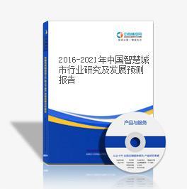 2016-2021年中国智慧城市行业研究及发展预测报告