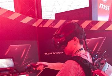 脑洞大开!盘点台北电脑展的VR主机及配件
