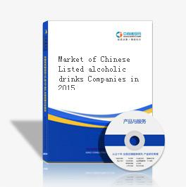 Market of Chinese Listed alcoholic drinks Companies in 2015