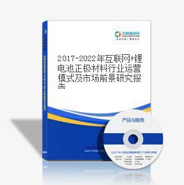2019-2023年互聯網+鋰電池正極材料行業運營模式及市場前景研究報告