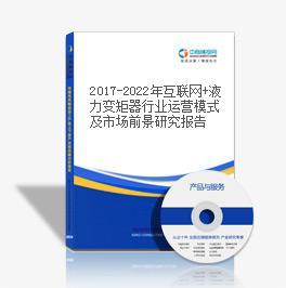 2019-2023年互联网+液力变矩器行业运营模式及市场前景研究报告