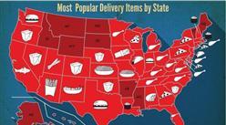 中国人在网上点快餐 美国人在网上点什么?