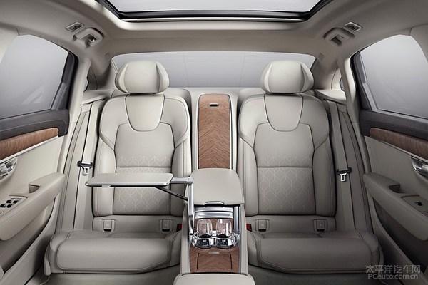国产沃尔沃S90L正式首发 增轴距/更豪华
