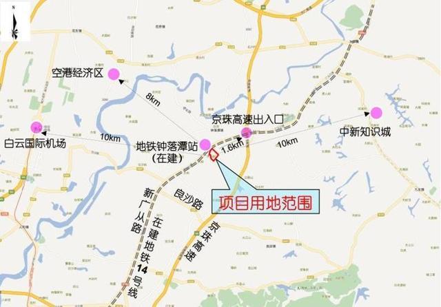 广州地铁11号线最新消息 线路图 站点曝光图片