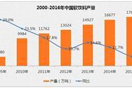 2016年中国软饮料产量可达18409万吨   同比增长4.2%