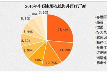 2016年中国境外医疗规模已达千亿美元  重症治疗为主因