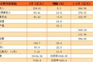 2017年1-2月武汉市经济运行情况:固定资产投资同比增长9.4%