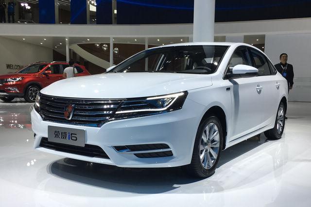 上海車展探營:榮威i6 16T及ei6將正式上市