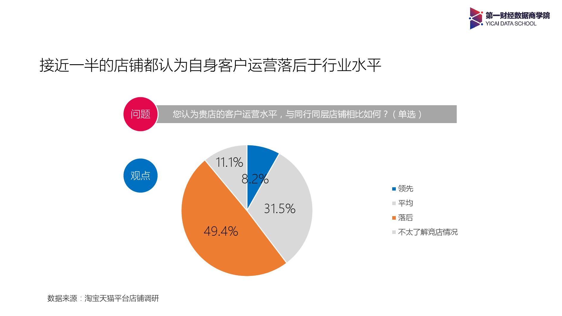 2017年淘系店铺客户运营调研分析报告