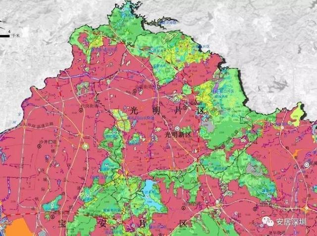 深圳土地利用总规划调整方案出炉 各城区有何变动?图片