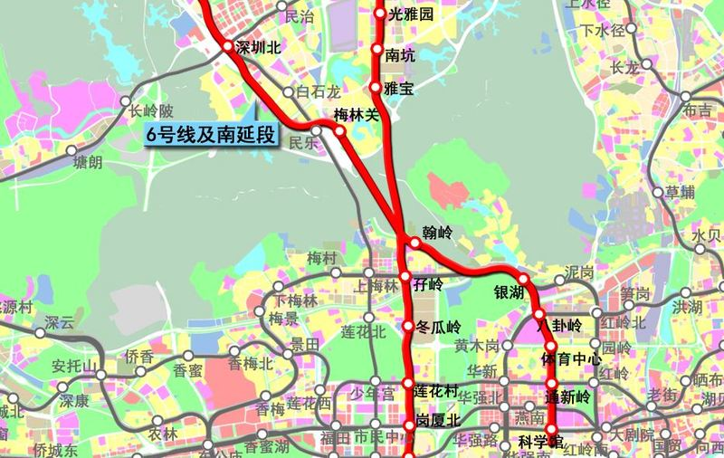2017深圳地铁最新消息汇总:13条地铁线路建设进度到哪