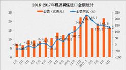 5月中国煤及褐煤进口量为2219万吨 同比增长16.3%(附图表)