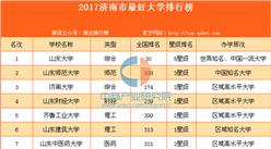 2017济南市最好大学排行榜