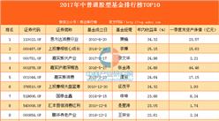 2017年中普通股型基金排行榜TOP10