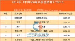 2017年《中国500最具价值品牌》TOP10