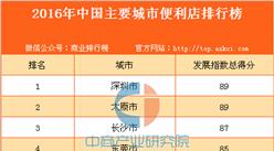 2016年中国主要城市便利店排行榜