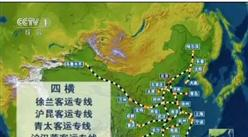 """厉害了!中国高铁大升级 由""""四纵四横""""到""""八纵八横""""这还不能通到你家?"""