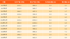 2017年上半年中国汽油产量6563万吨:同比增长2.1%