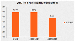 2017年上半年国内交通运输经济运行分析:货运增速加快(图表)