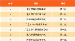 2017年貴州特色小鎮人口數據分析:播州區鴨溪鎮人口最多