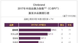 2017年中国瓶装水品牌排行榜:康师傅最具品牌魅力