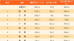 2017年早稻产量排名数据分析:早稻大省究竟是谁?