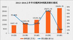 2017上半年乐视网财务数据分析:净亏损6.4亿元