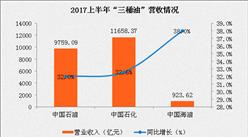 """2017上半年""""三桶油""""业绩大比拼:中石化勇夺双冠 成最赚钱油企!"""