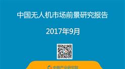 2017年中国无人机市场前景研究报告(简版)