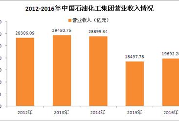 2017年中国制造业企业500强:中石化经营数据分析(图)