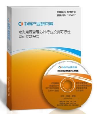 老挝电源管理芯片行业投资可行性调研专题报告
