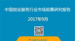 2017年中国创业服务行业市场前景研究报告(简版)