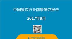 2017年中国餐饮行业前景研究报告(附全文)