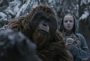 2017年9月18日电影票房排行榜:《猩球崛起3:终极之战》票房稳居榜首