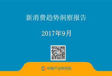 2017年新消费趋势洞察报告