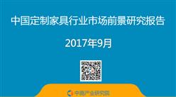 2017年中国定制家具行业市场前景研究报告(简版)