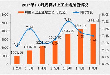 2017年1-8月深圳经济运行情况:固定资产投资同比增长32%(附图表)