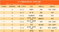2017年胡润中国投资行业百富榜:姚振华等111位富豪上榜(附榜单)