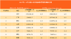 2017年1-9月全国31省市福利彩票销售额排行榜(附榜单)