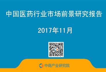 2017年中国医药行业市场前景研究报告(简版)