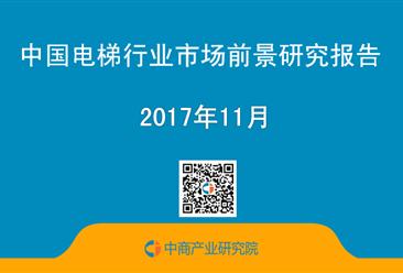 2017年中国电梯行业市场前景研究报告(简版)