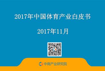 2017年中国体育产业白皮书:体育产业预测分析(全文)