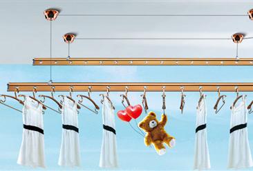 晒衣架行业产业链及主要品牌企业分析:你还在用手摇式晒衣架?(附图表)