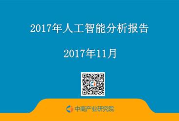 2017年人工智能分析报告(附报告全文)