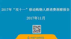 """2017年""""双十一""""移动购物人群消费洞察报告(全文)"""
