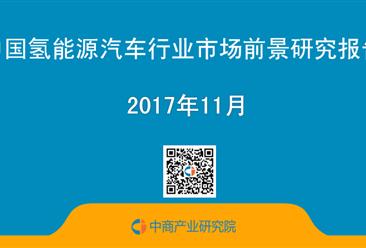 2017年中国氢能源汽车行业市场前景研究报告(简版)