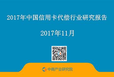 2017年中国信用卡代偿行业研究报告(附全文)