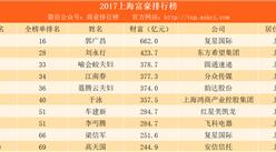 2017福布斯中國富豪榜(上海篇):復星國際郭廣昌第一 圓通喻會蛟夫婦第三(附榜單)